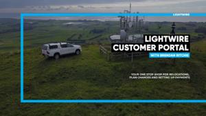 How to use Lightwire customer portal