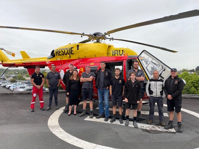 Lightwire and Waikato Rescue Helicopters