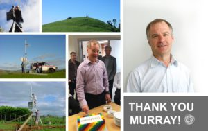 Farewell to founder Murray