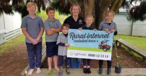 Lightwire Rural schools internet