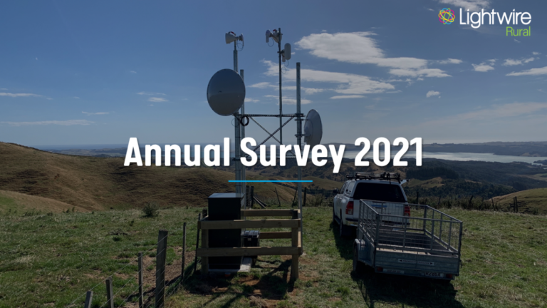 The Results Are In - 2021 Lightwire Survey