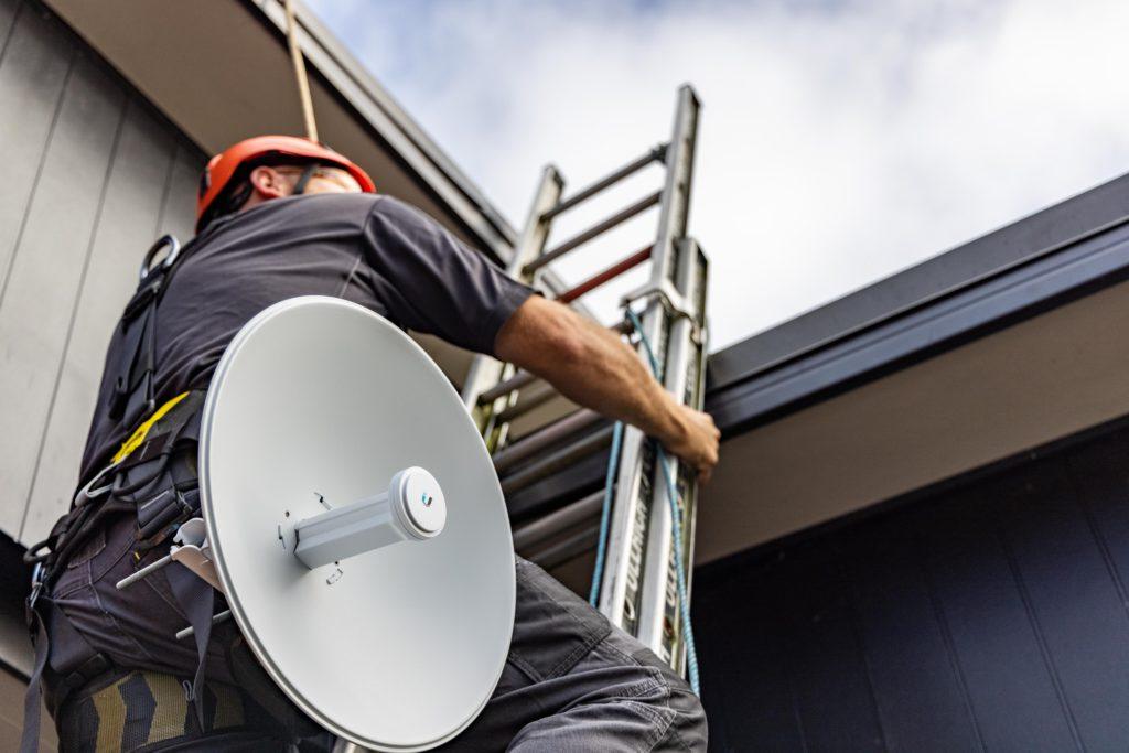 Pre installed rural broadband